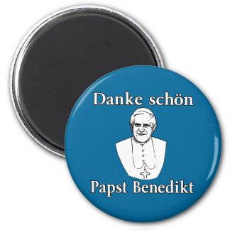 Papa Benedicto de Danke Schon Iman De Frigorífico