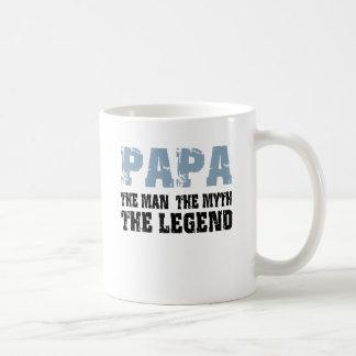 Papa (Blue-Black) Coffee Mug