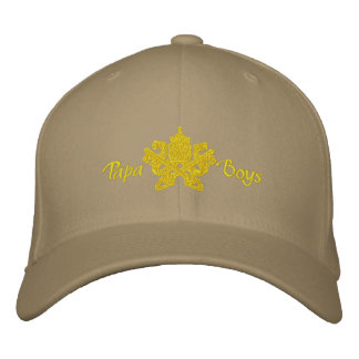 Papa Boys cap (cappellino) Embroidered Hat