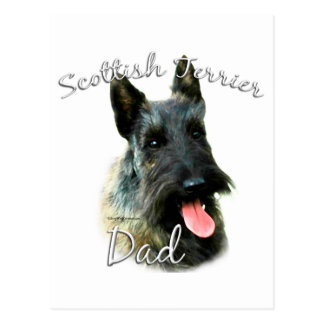 Papá (brindle) 2 de Terrier del escocés Postales