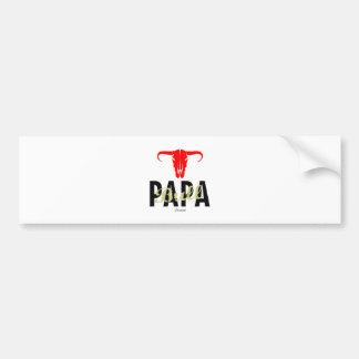 Papa Bull by VIMAGO Bumper Sticker
