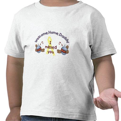 Papá casero agradable (le falté) camisetas