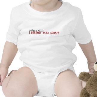 Papá casero agradable niño camisetas