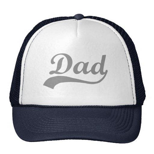 Papá chapoteante gris gorra