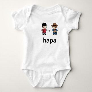 Papá chino de Hapa y mono americano del papá Polera