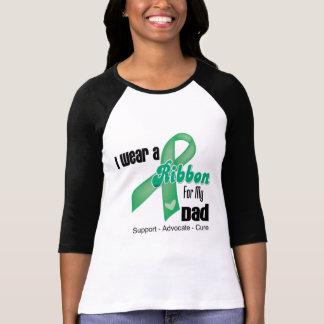 Papá - cinta del cáncer de hígado camisas