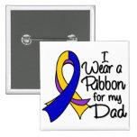 Papá - cinta del cáncer de vejiga pins