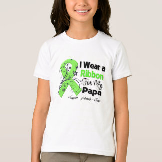 Papá - cinta del linfoma camisas