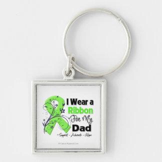 Papá - cinta del linfoma llavero