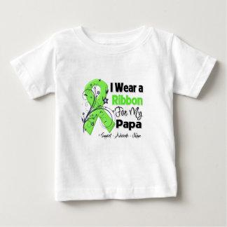 Papá - cinta del linfoma playera para bebé