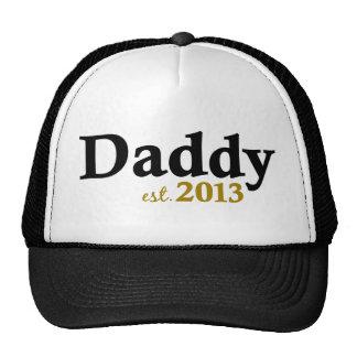 Papá clásico Est 2013 Gorro De Camionero