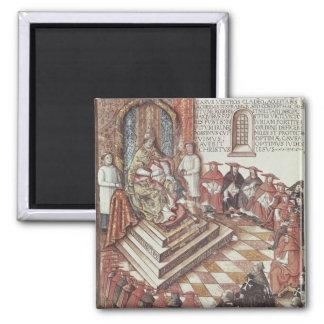 Papa Clemente VII Imán Cuadrado