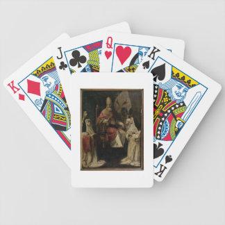 Papa Clemente VIII que bendice a las monjas carmel Baraja