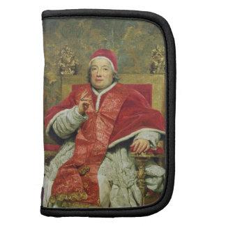 Papa Clemente XIII 1693-1769 aceite en lona Organizadores