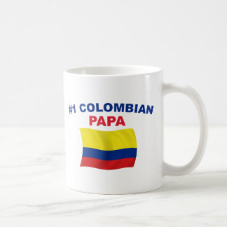 Papá colombiana #1 taza