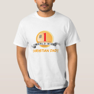 ¡PAPÁ CRISTIANO!! … Camiseta religiosa Playera