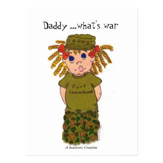 Papá… cuál es la guerra,…. tarjetas postales