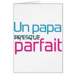 Papá/DAD/Daddy/Vati/Papá Tarjeta De Felicitación