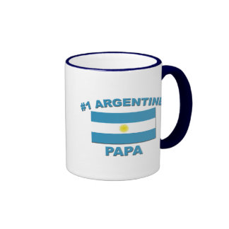 Papá de #1 Argentina Tazas De Café