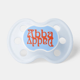 Papá de Abba (dios del padre) Chupetes De Bebe