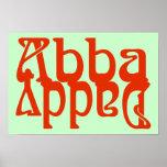 Papá de Abba (dios del padre) Póster