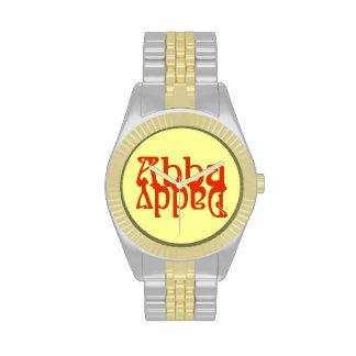 Papá de Abba (dios del padre) Relojes De Pulsera