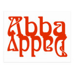 Papá de Abba (dios del padre) Tarjetas Postales