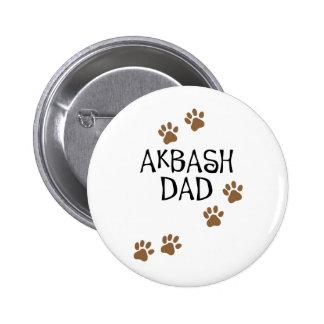 Papá de Akbash Pin Redondo 5 Cm
