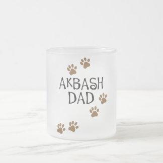 Papá de Akbash Taza Cristal Mate