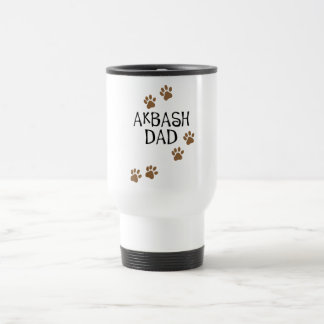 Papá de Akbash Taza De Viaje De Acero Inoxidable