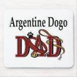 PAPÁ de Argentina Dogo Alfombrillas De Ratón