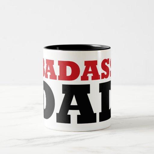 Papá de Badass Tazas