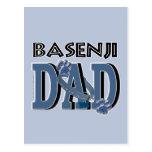 PAPÁ de Basenji Tarjetas Postales
