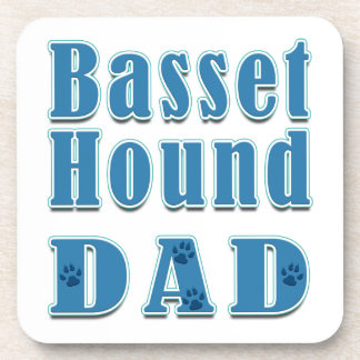 Papá de Basset Hound Posavasos