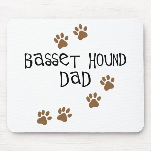 Papá de Basset Hound Tapete De Raton
