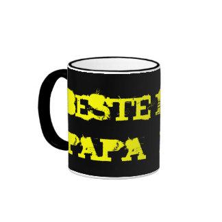 PAPÁ DE BESTE TAZA DE DOS COLORES