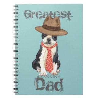 Papá de Boston Cuaderno