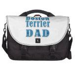 Papá de Boston Terrier Bolsa Para Ordenador