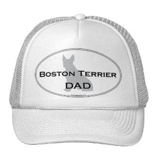 Papá de Boston Terrier Gorro De Camionero