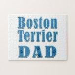 Papá de Boston Terrier Rompecabezas