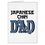 PAPÁ de Chin del japonés Tarjeta De Felicitación