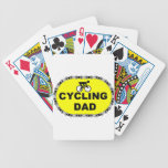 Papá de ciclo cartas de juego