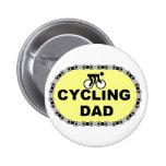 Papá de ciclo pin
