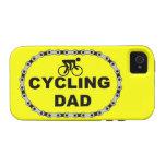 Papá de ciclo vibe iPhone 4 carcasas