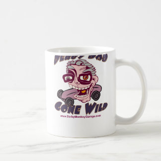 Papá de Derby ido salvaje Tazas De Café