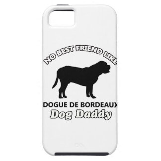 Papá de Dogue de Bordeaux Dog Funda Para iPhone 5 Tough