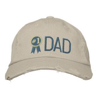 Papá de encargo del día/del cumpleaños de padre gorra bordada