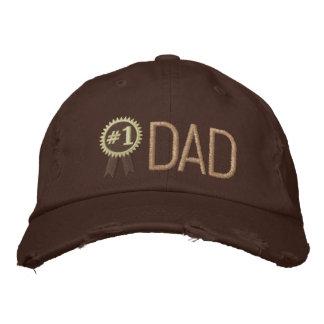 Papá de encargo del día/del cumpleaños de padre gorra de beisbol