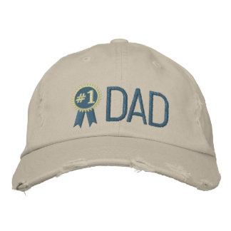 Papá de encargo del día/del cumpleaños de padre gorra de béisbol bordada