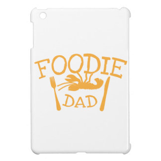 Papá de FOODIE con la langosta y la placa